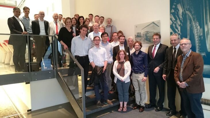 Group of people at Knorr Bremse
