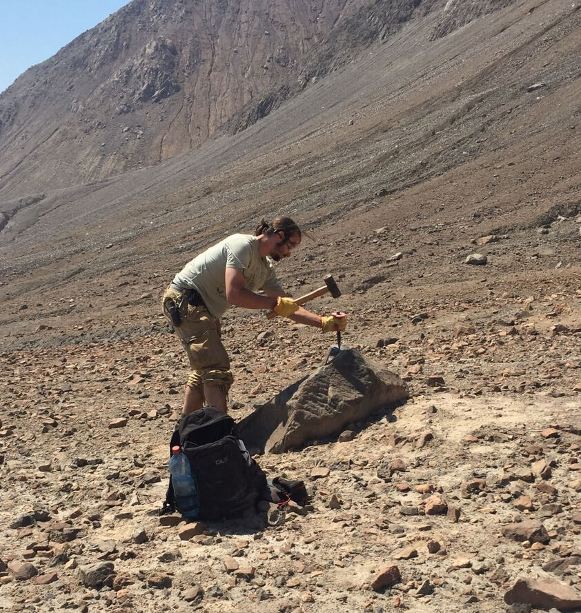 Sampling for surface exposure dating