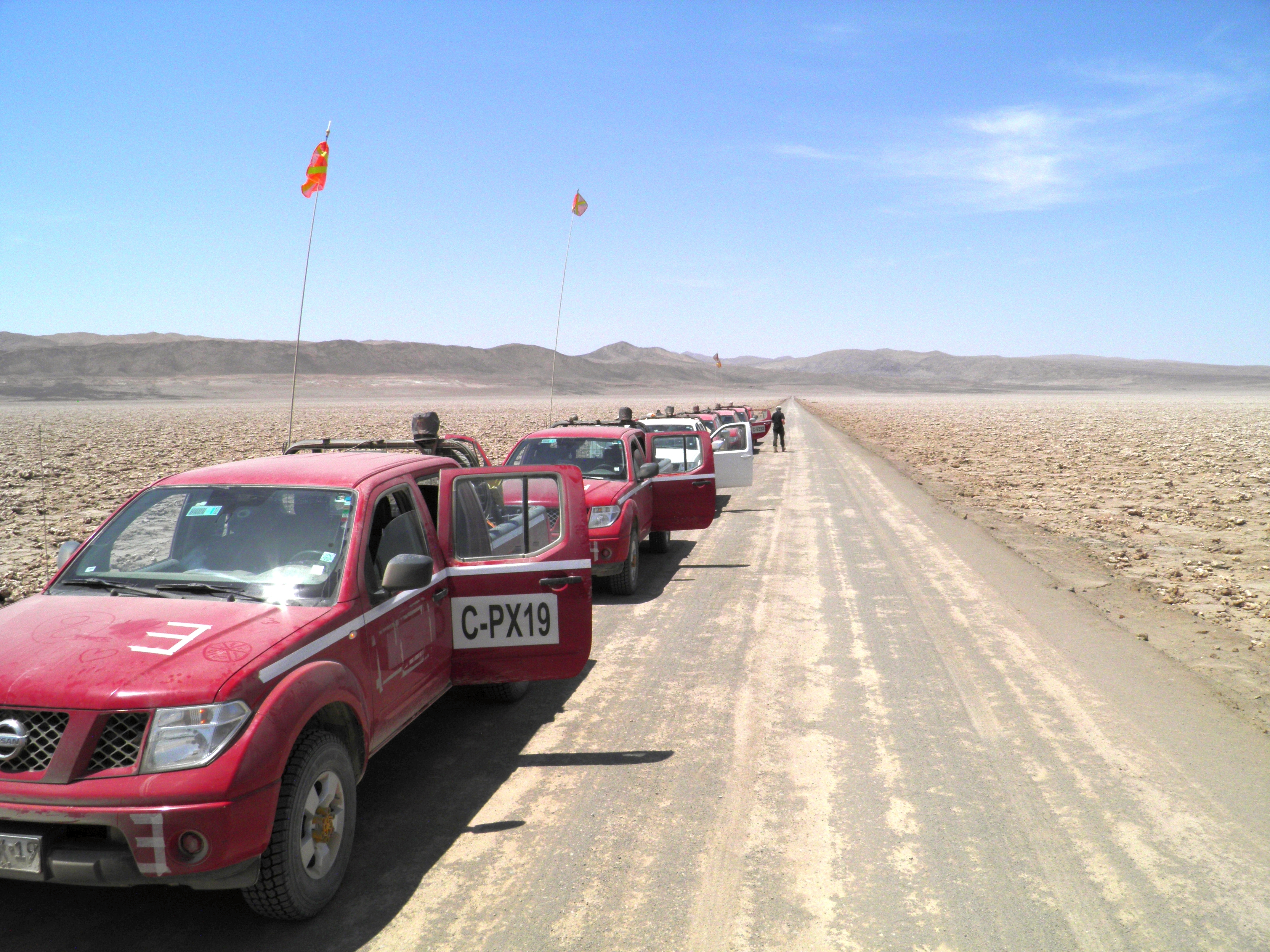 Expedition with off-road vehicles to the Atacama Desert