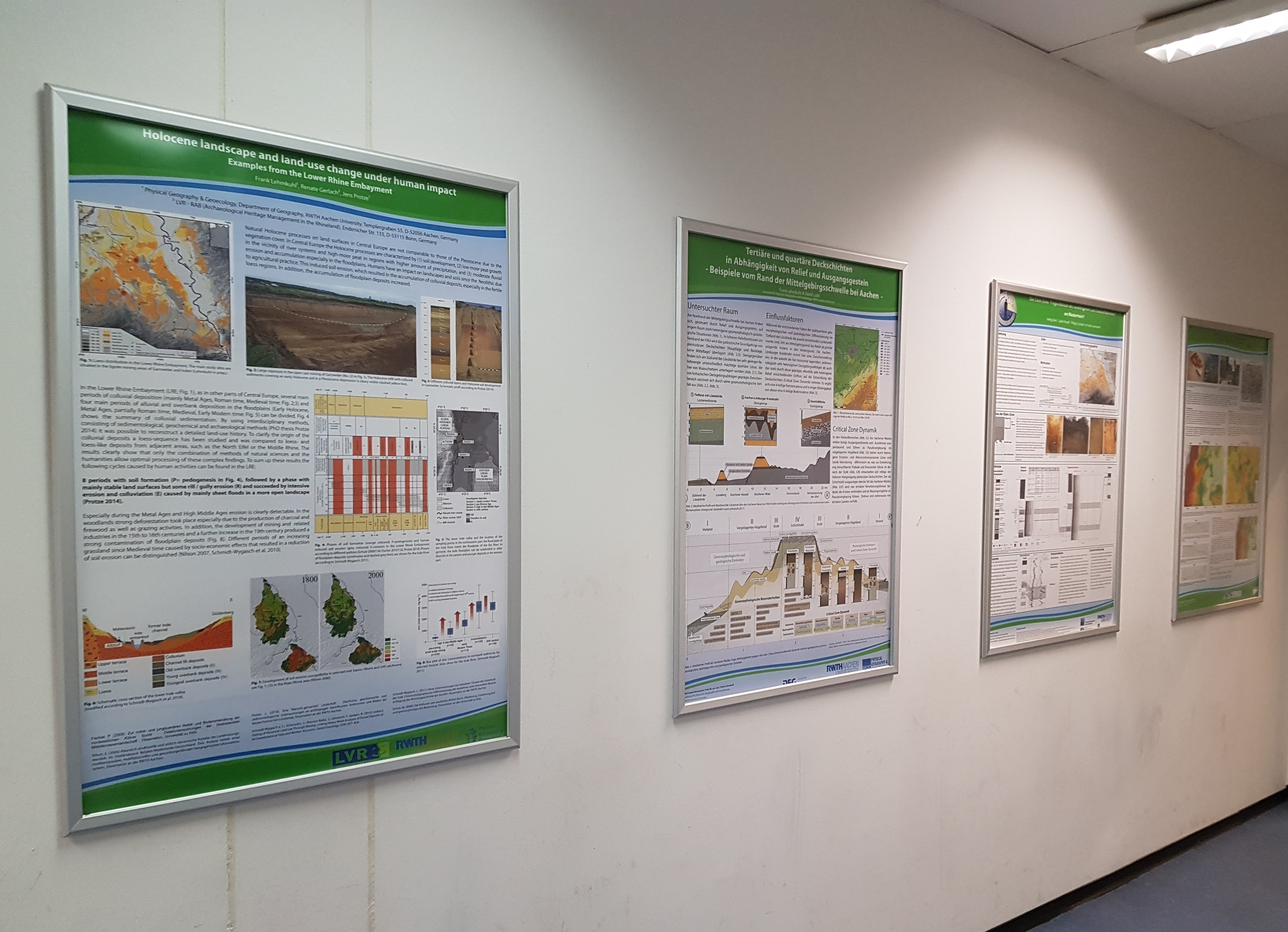 Posters on research projects