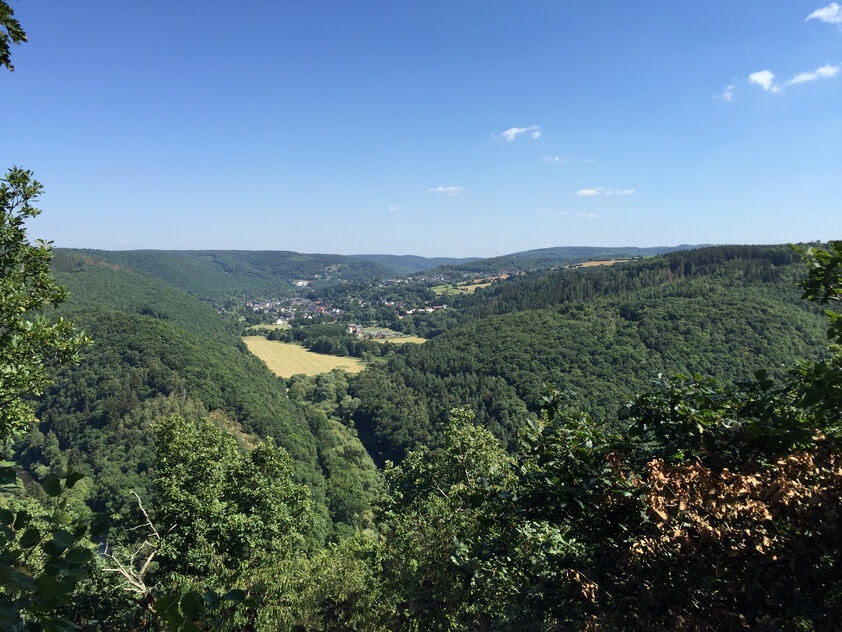 Valley in the Eifel Mountains