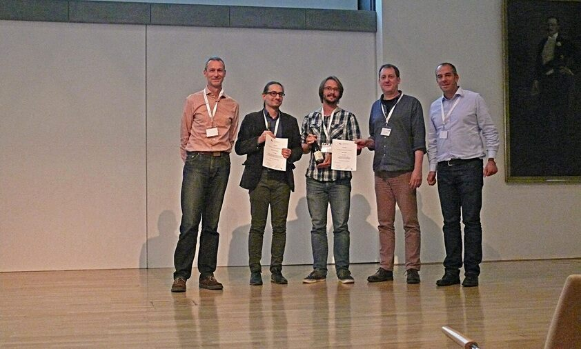 Poster award for Janek Walk