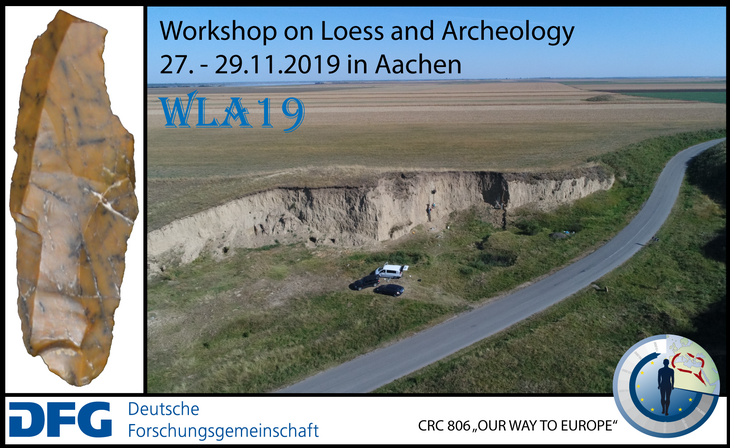 Workshop on loess and archeaology in Aachen, 2019