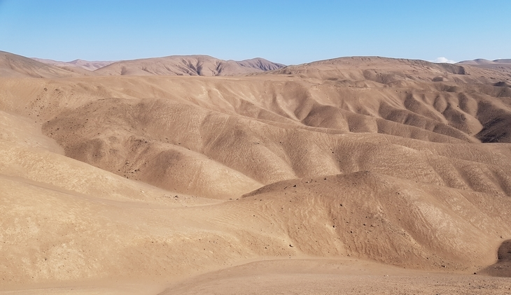 Dissection of the Coastal Cordillera in the hyperarid Atacama Desert